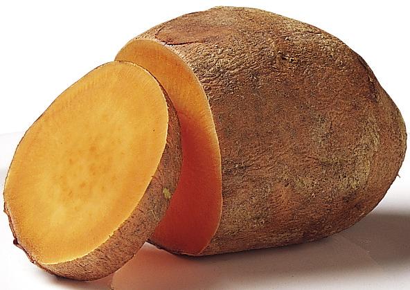 Orange Fleshed Sweet Potato