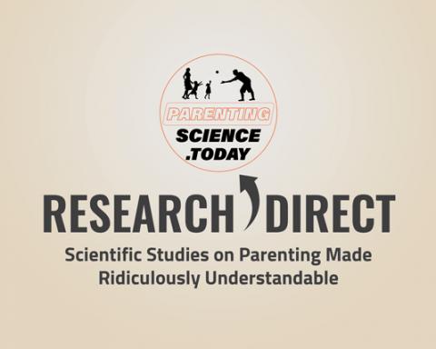 Scientific summaries related to parenting