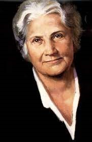 Dr. Maria Montessori, founder of the world-wide Montessori movement. Born August 31, 1870, Chiaravalle, Italy. Died May 6, 1952, Noorkwijk, Holland. The first woman in Italy to qualify as a doctor of medicine and Nobel Peace nominee.