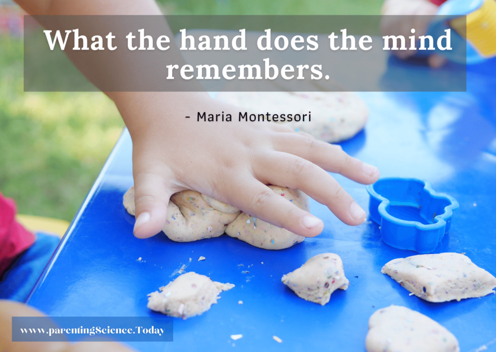 What the hand does the mind remembers.